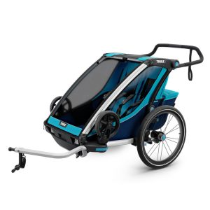 Thule Chariot Cross 2 Multisport Trailer – Blue/Poseidon