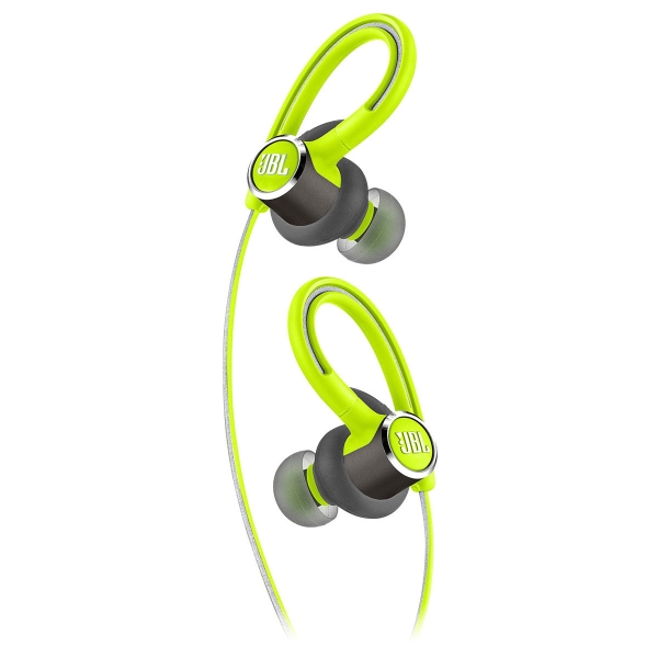 69569207823 JBL Reflect Contour 2 Bluetooth Wireless In Ear Headphones – Green ...